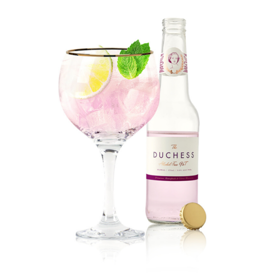 The Duchess Floral Alcohol-Free Gin & Tonic